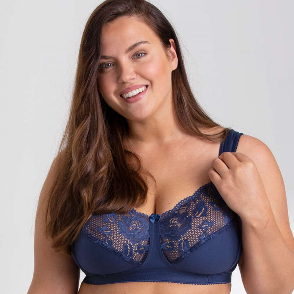 Miss Mary BH ohne Bügel Modell Lovely Lace in Farbe navy