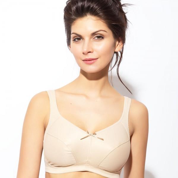 BH ohne Bügel Modell Ivana von Rosme in Farbe Haut