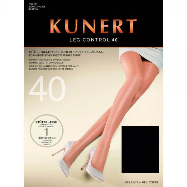 KUNERT - Leg Control 40 - Shaping-Strumpfhose - Schwarz