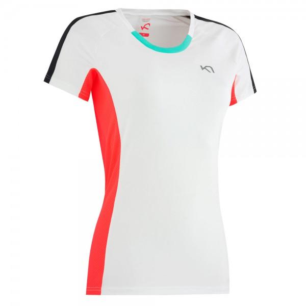 T-Shirt Modell Kristin von Kari Traa für Jogging und Fitness in Farbe weiß