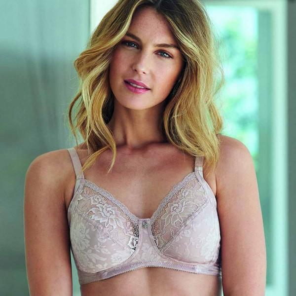 Abecita BH ohne Bügel Modell Beatrice in Farbe Rosa