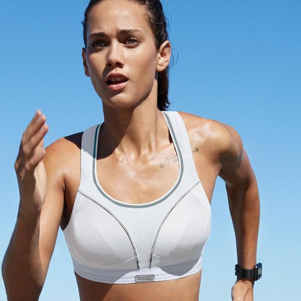 Shock Absorber Sport-BH Modell Run in Farbe weiß - ideal für Jogging und Running