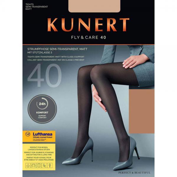 KUNERT - Fly & Care 40 - Shaping-Strumpfhose - Cashmere