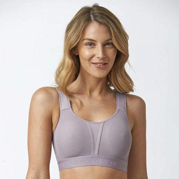Abecita Sport-BH Modell Kimberly in Farbe Lavendel
