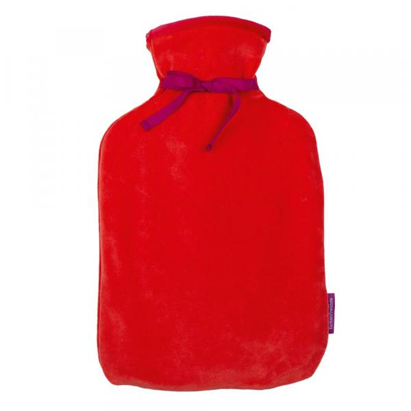 Attraktive Wärmflasche von Farbenfreunde in der Farbe Rot