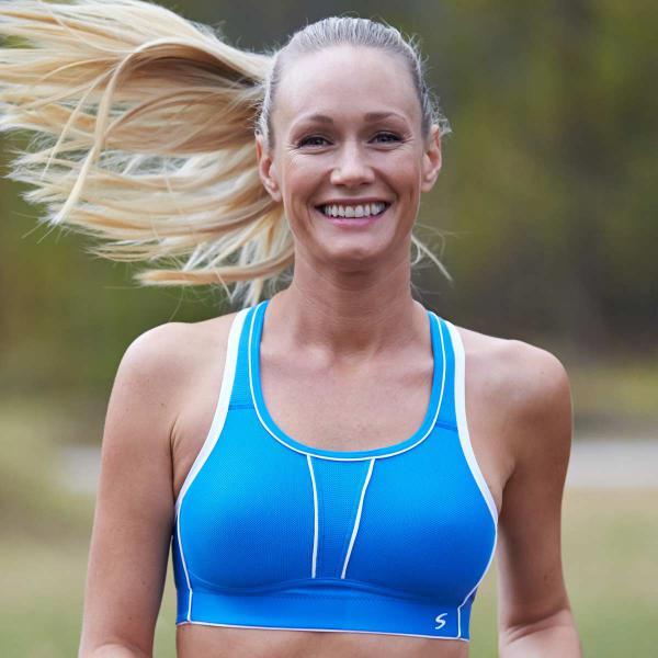 Swegmark Sport-BH Movement in Farbe himmelblau - Testsieger in vielen Tests