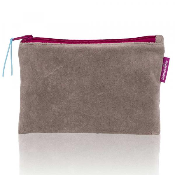Kleine schmucke Tasche von Farbenfreunde in der Farbe Grau