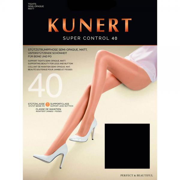 KUNERT - Super Control 40 - Shaping-Strumpfhose - Schwarz