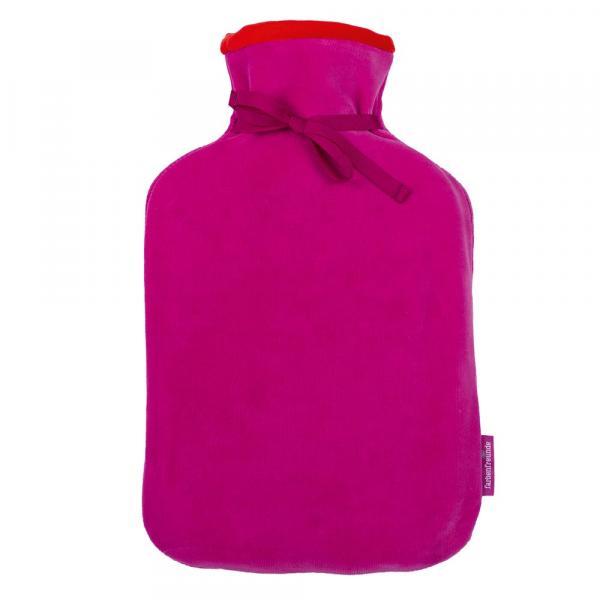 Attraktive Wärmflasche von Farbenfreunde in der Farbe Pink