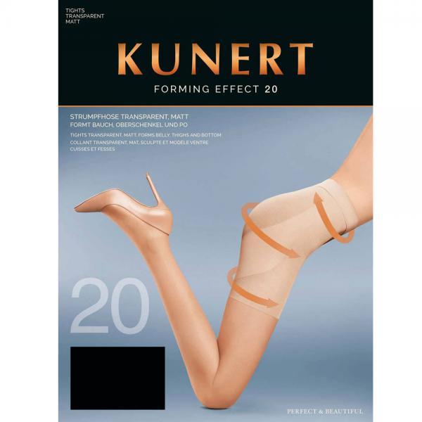 KUNERT - Forming Effect 20 - Shaping-Strumpfhose - Schwarz