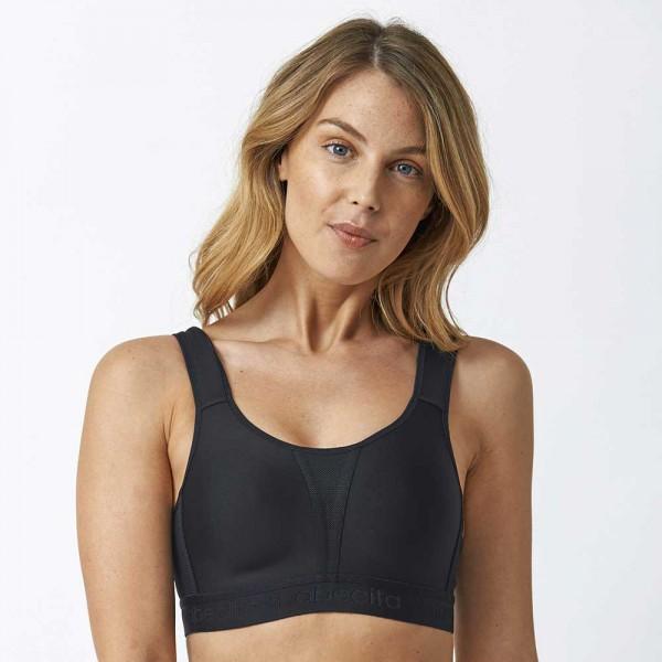 Abecita Sport-BH Modell Kimberly in Farbe schwarz
