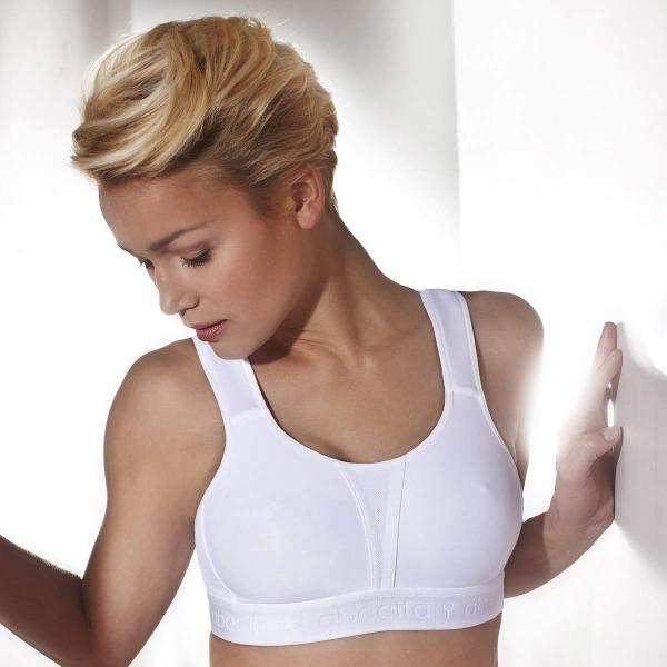 Abecita Sport-BH Modell Kimberly in Farbe weiß
