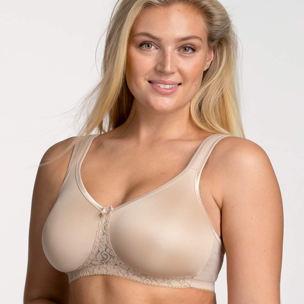 Miss Mary BH ohne Bügel Modell Smooth Lacy in Farbe haut